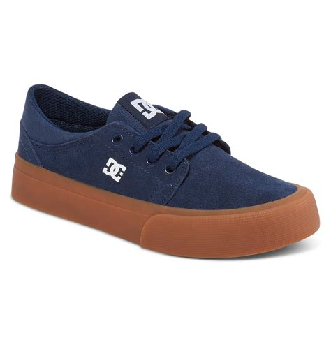 dc shoes slippers boy s 4 7 trase shoes adbs300248 dc shoes