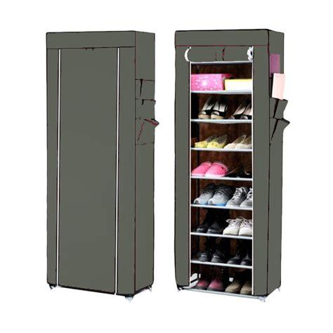 Info Rak Sepatu jual nine box rak sepatu 10 cover 9 tingkat
