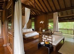 bali style bedroom como shambhala estate bali wooden and white pavilion
