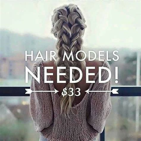 hair models needed i need 3 hair models thst want to grow their hair out