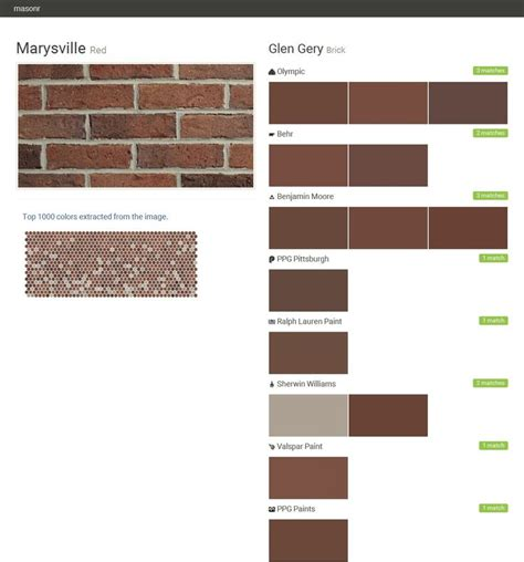 17 best images about brick colors on ralph