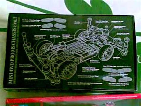 Tamiya Mini 4wd Top Evolution Rs tamiya mini 4wd pro ms chassis evo i open box