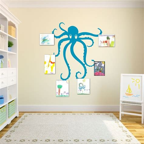 teal wall stickers wall decal octopus teal traditional wall decals by sissy