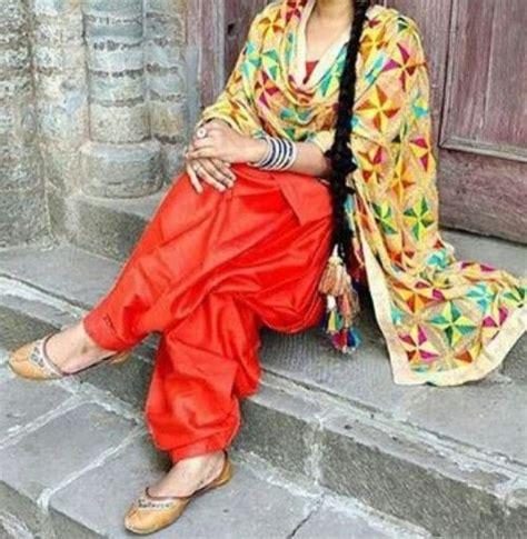 Manu Dress By Dressbyairin Dba phulkari on