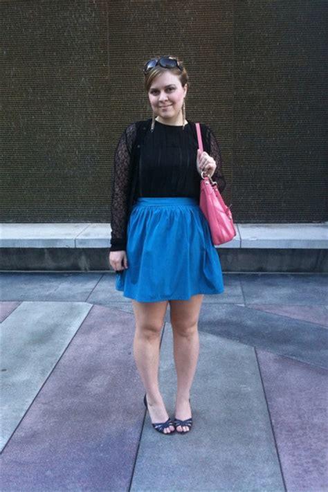 black alberta ferretti shirts blue kimchi blue skirts