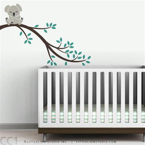 Tree Wall Decals For Nursery Etsy Wall Decal Baby Koala Tree Branch Wall Sticker For Nursery Wall Decor Koala Branch