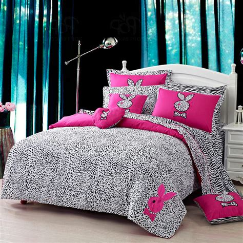 pink zebra bedding colorful mart tuzki pink zebra print bedding set