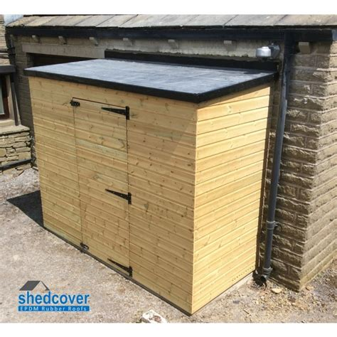 Shed Sealant by Shedcover Rubber Membrane 1 20mm For Shed Rubber Roofs