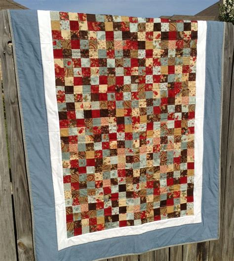 scrappy 9 patch quilt for in