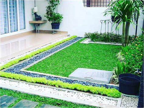 desain rumah lahan sempit taman rumah 98039 notefolio