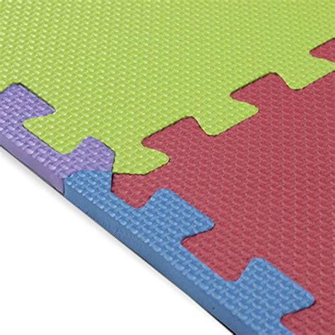 Play Mat Squares by Foam Play Mats 16 Tiles Borders Puzzle Playmat
