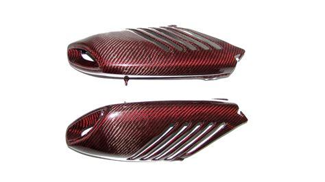 Motorrad Abdeckung Rot by F 252 R Aprilia Dorsoduro Smv 750 900 Carbon Rot Auspuff Abdeckung