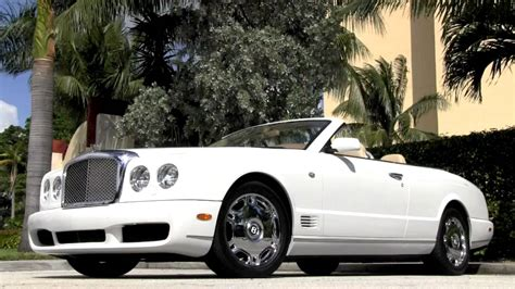 2009 bentley azure 2009 bentley azure glacier white community auto sales palm