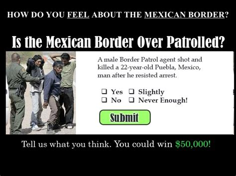 crossing the mexican border without passport
