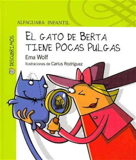 libro berta tiene un gatito la grossa libros ema wolf berta y su gato