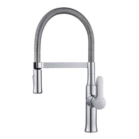 commercial style kitchen faucet faucet kpf 1640ch in chrome by kraus