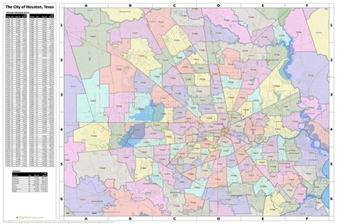 harris county texas zip code map image gallery houston zip code map