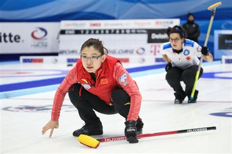 pictures of women of the winter olympics from the 1940s china book place in women s curling tournament at