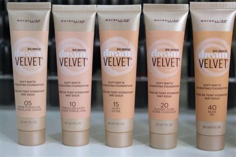 Maybelline Velvet Matte impression maybelline velvet foundation