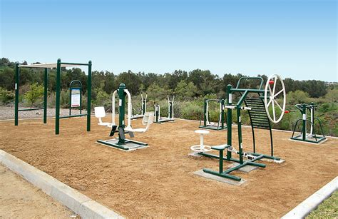 backyard fitness equipment saddleback church offers innovative outdoor fitness course