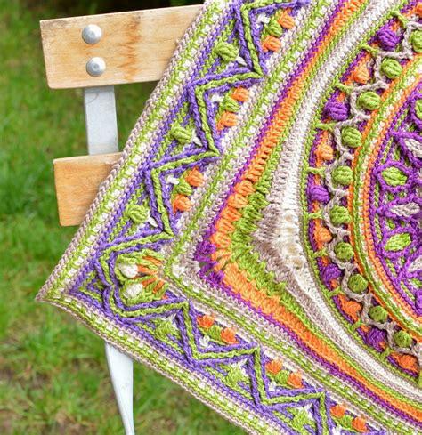 Rug Yarn Skeins Large Crochet Squares Or Second Life Of Dandelion Mandala