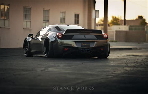 liberty walk stance works the liberty walk ferrari 458