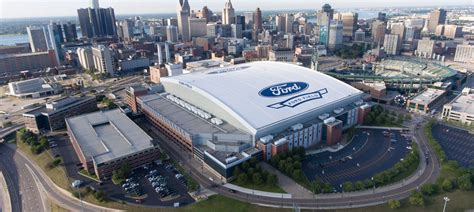 Ford Detroit by About Ford Field Ford Field