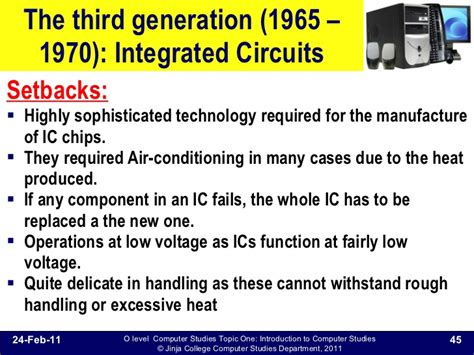integrated circuits were introduced into computing technology starting in the 102 evolution of computers
