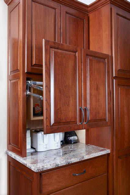 Bordeaux Kitchen Cabinets by Custom Cherry Cabinets Juparana Bordeaux Granite