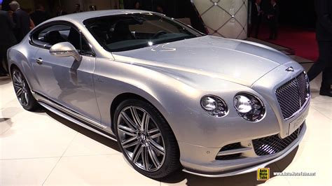 2015 bentley continental interior 2015 bentley continental gt speed exterior and interior