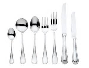 Cutlery Set Vera Wang Wedgwood Cutlery Grosgrain 56 Piece Cutlery Set
