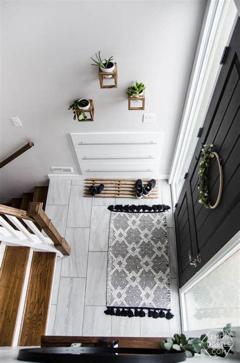 decorating a split level home a diy split level entry makeover before after lemon