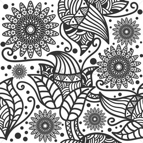 decorative wallpaper decorative flower wallpaper vector image 1571510