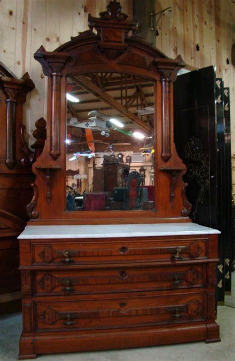 marble top dresser bedroom set great 3 piece 1870 s victorian walnut marble top bedroom set