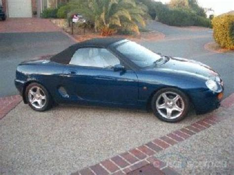 Cars For Sale 25000 And by 1999 Used M G F Car Sales Secret Harbour Wa 25 000