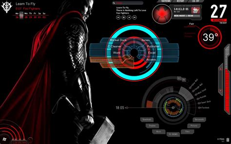 pc themes deviantart deviantart rainmeter themes desktop wallpaper