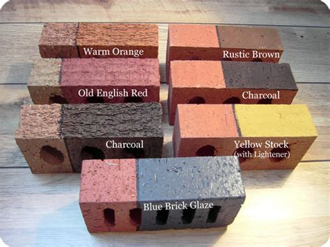 remodelaholic update the color of your brick stained