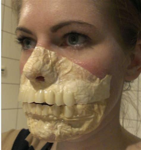 zombie makeup tutorial with latex zombie makeup latex halloween pinterest homemade