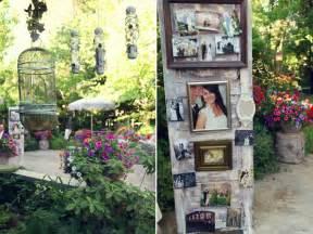 Vintage Backyard Ideas A Vintage Spring Garden Wedding Glamour Amp Grace