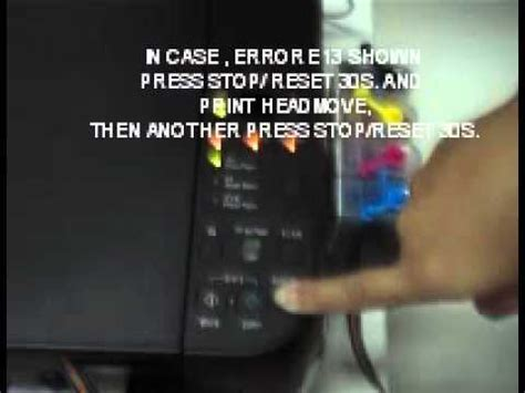 reset mp280 e08 how to fix canon mp287 error e08 or ip2770 error 5b00