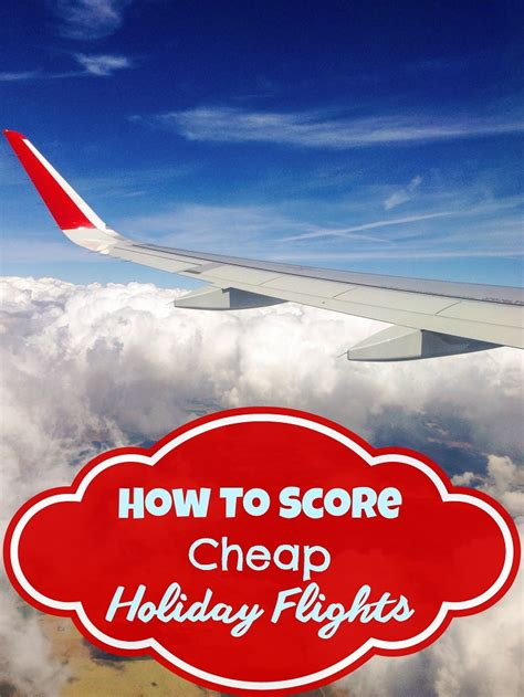 how to score cheap flights