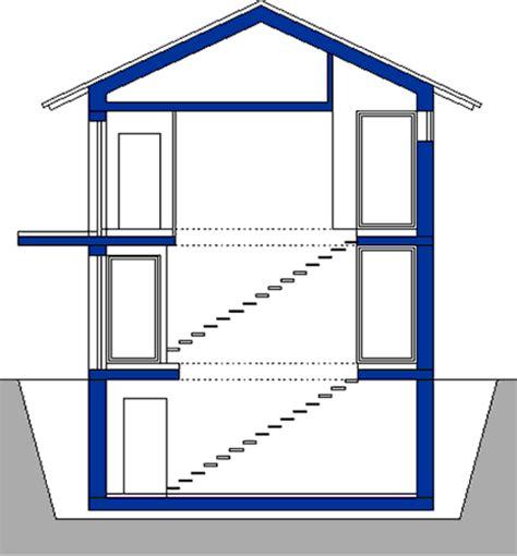 querschnitt haus 214 ko architektenhaus haus 10 cilento querschnitt