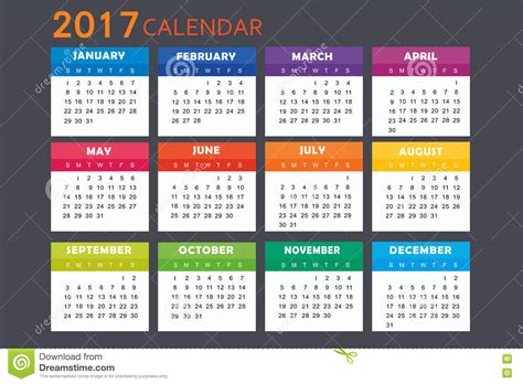 design new year calendar calendar for 2017 stock vector image of graph celebrate