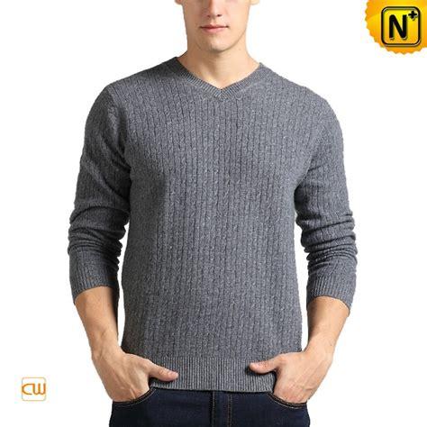 Sweater Distro 45 s v neck 100 sweater grey cw400066 cwmalls