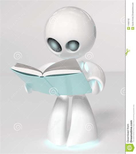 robot reading robot reading how to master your attention and focus your reading speed remember more learn faster and get more done in less time books reading robot stock photography image 11600742
