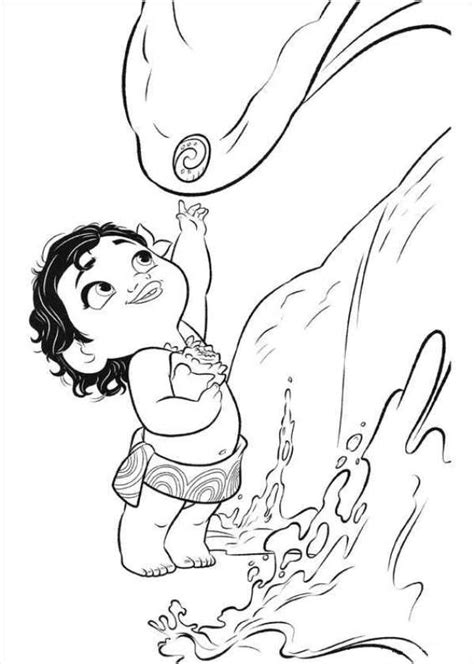 coloring pages disney moana moana coloring pages coloring home