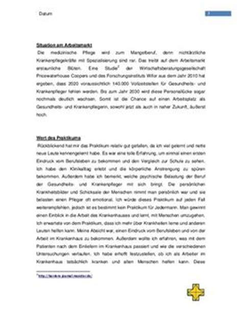 Praktikum Vorbericht Vorlage Praktikumsbericht Beispiel Schulhilfe De