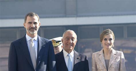 chambre de commerce d espagne le roi felipe vi et la reine letizia d espagne visitent la