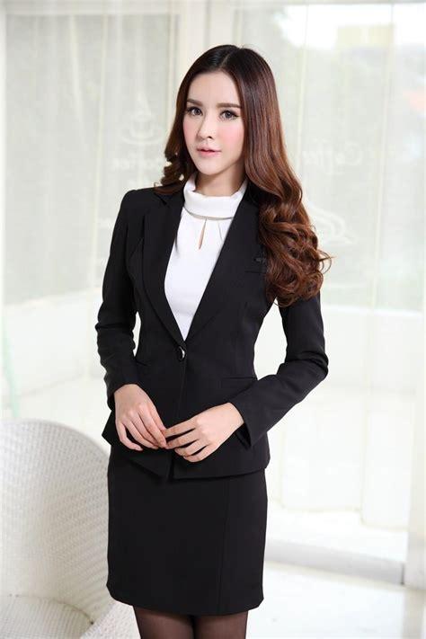 executive suits for working women 2015 new women work wear female blazer skirt suit custom made
