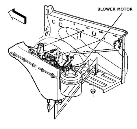 2001 yukon blower motor resistor location 1999 yukon blower motor resistor location 28 images blower motor resistor front heater a c